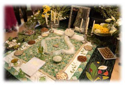 the wedding spread