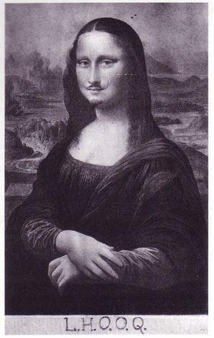 the Duchamp original, circa 1919